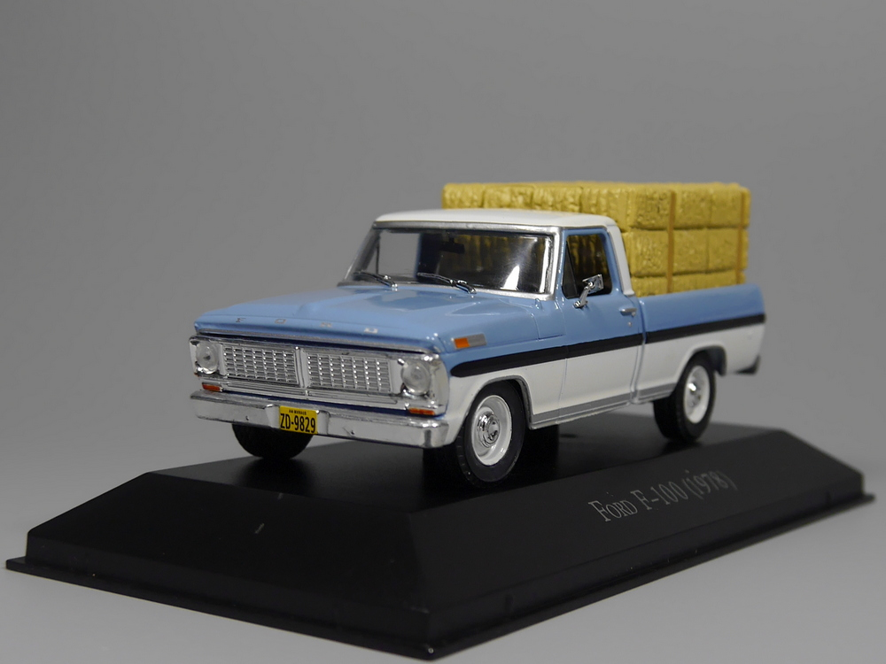 Otomatik Inn-ixo 1:43 Ford F-100 1978 pres döküm model araba